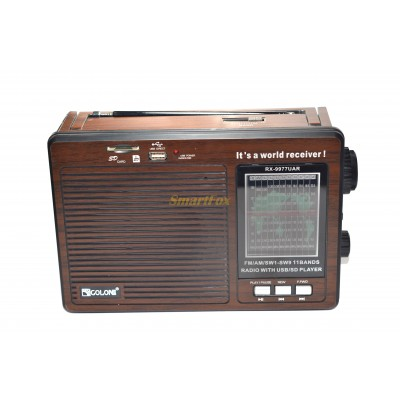 Радиоприемник с USB GOLON RX-9977UAR
