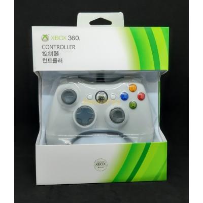 Игровой манипулятор (джойстик) X-BOX 360 проводной джойстик БЕЛЫЙ