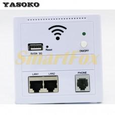 Wi-Fi репитер wall AP LV-AP