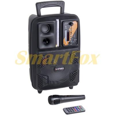 Портативная колонка Bluetooth в виде чемодана KIMISO QS-2805 BT (8`BASS)