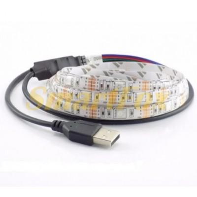 Светодиодная лента LED RGB 5050 (2 м)