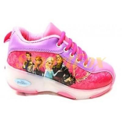Детские кроссовки на роликах (размер 36-37) SL-12633637