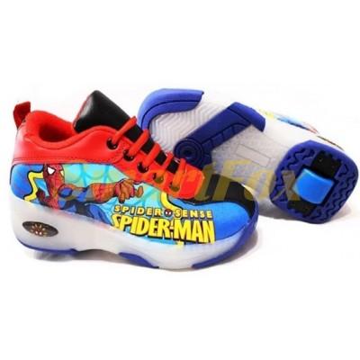 Детские кроссовки на роликах (размер 34-35) SL-12653435