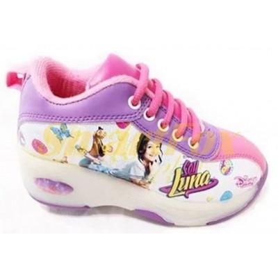 Детские кроссовки на роликах (размер 30-31) SL-1266-3031