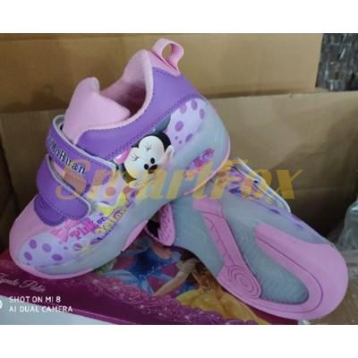 Детские кроссовки на роликах (размер 30-31) SL-1267-3031