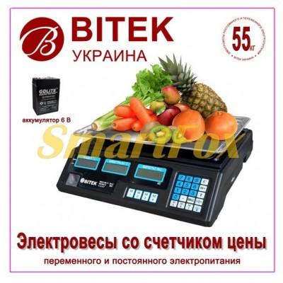 Весы электронные торговые BITEK YZ-208TP (до 55кг)