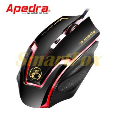 Мышь проводная игровая APEDRA A9