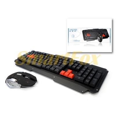 Клавиатура + мышь беспроводные HK6700