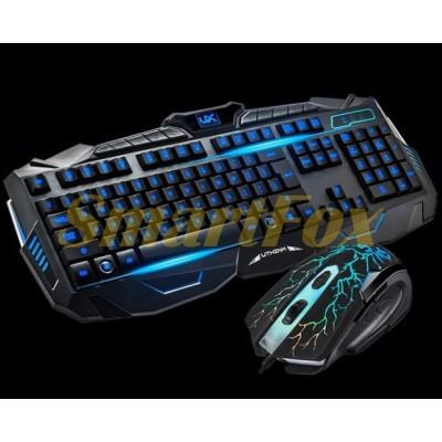Клавиатура + мышь проводные V100