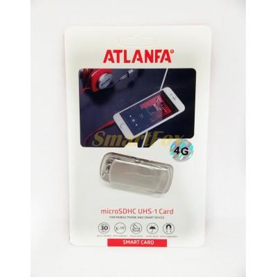 Флеш память USB 2.0 4Gb ATLANFA AT-U1 с цепочкой