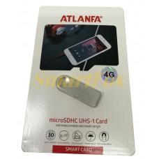 Флеш память USB 2.0 4Gb ATLANFA AT-U3мини с отверствиемдля ключей