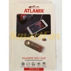 Флеш память USB 2.0 32Gb ATLANFA AT-U3мини с отверствиемдля ключей