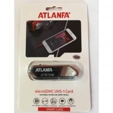 Флеш память USB 2.0 16Gb ATLANFA AT-U5 с брелком для ключей