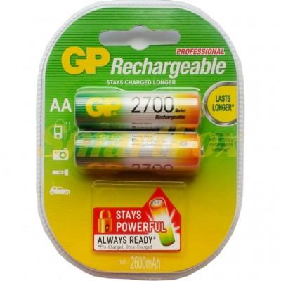 Аккумулятор AA R6 2700mAh (цена за 1шт, продажа упаковкой 2шт)