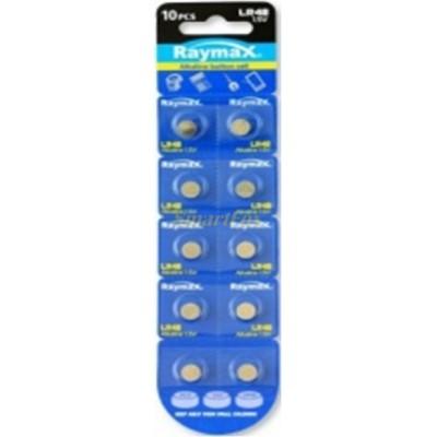 Батарейка Raymax AG5/LR754/G5/LR48/193/GP93A (цена за 1шт, продажа упаковкой 10шт)