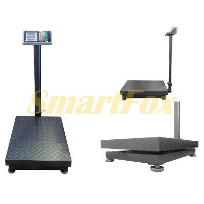 Весы электронные торговые BITEK YZ-909-G5-600kg с двойной усиленной платформой до 600кг (45х60см)