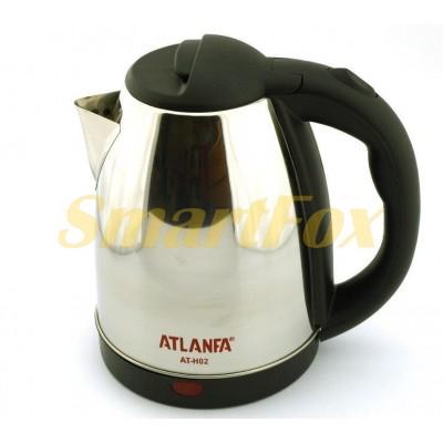 Электрочайник дисковый ATLANFA AT-H02 из нержавеющей стали 1500Вт (1,8 л)