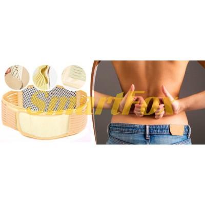 Массажер для спины турмалинновый пояс МН 17