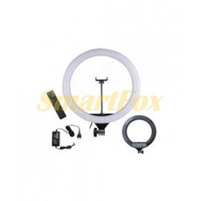 Лампа LED для селфи кольцевая светодиодная Ring Fill Light CXB-460 + пульт (46 см)
