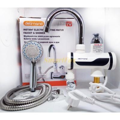 Проточный водонагреватель с душем BOS-79