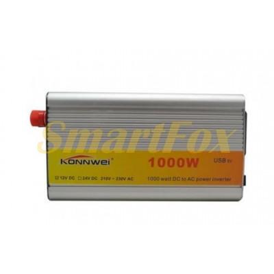 Преобразователь (инвертор) 12V/1000W