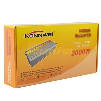 Преобразователь (инвертор) 24V/2000W