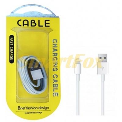 Кабель USB/Lightning WHITE (77582)