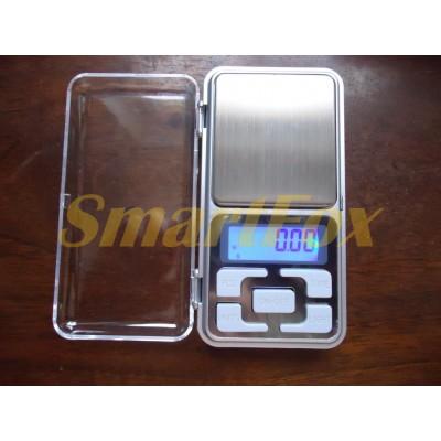Карманные весы с цифровым дисплеем для взвешивания мелких предметов (0,01гр-200гр)