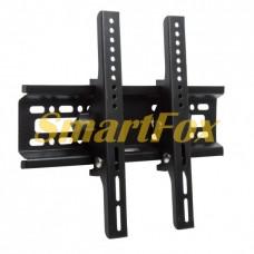Плоский настенный держатель HT-001 с наклонном для TV (size 15