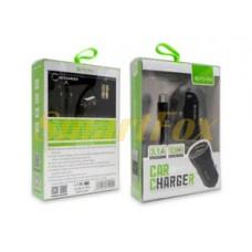 АЗУ USB 2,4А + кабель USB/microUSB QC3.0 BAVIN PC356-V8