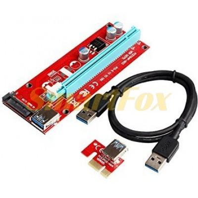 Набор RISER PCI-E для видеокарты SATA