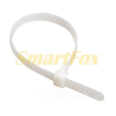 Стяжка хомут для кабеля/проводов 4-200 (500шт)