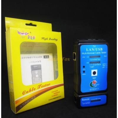 Тестер кабельный профессиональный LAN/USB