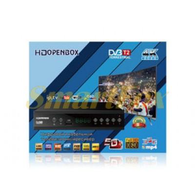 Приставка T2 цифровая с экраном DVB-T2 OpenBox IPTV/YouTube/WiFi/MP4/4K/1080 T2-OP-2021