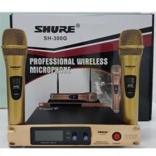 Комплект из двух радиомикрофонов со станцией UHF 739-761MHz SHURE SH-300G