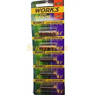 Батарейка WORKS 27A (цена за 1шт, продажа упаковкой 5шт)