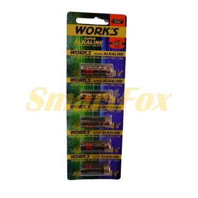 Батарейка WORKS 23A (цена за 1шт, упаковка 5шт)