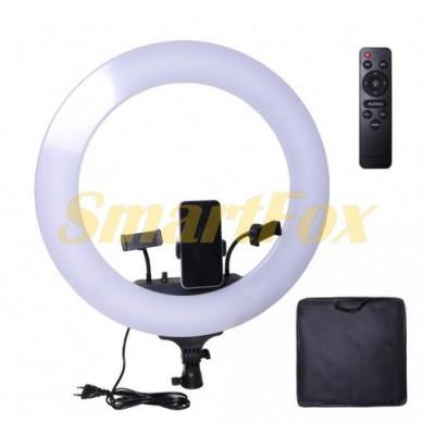 Лампа LED для селфи кольцевая светодиодная M22S 56см/8500K/LED дисплей/пульт