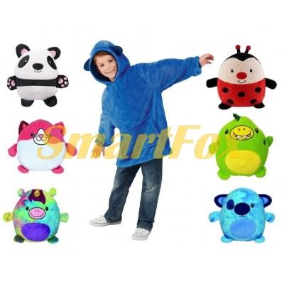Детская толстовка-игрушка Huggle Pets