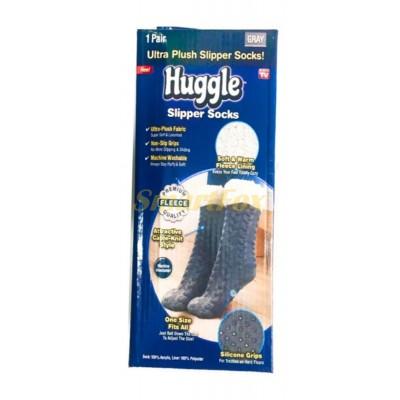 Носки-тапочки плюшевые Huggle Slipper Socks